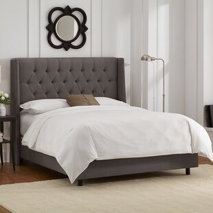 Skyline Furniture Raleigh Upholstered Panel Bed
