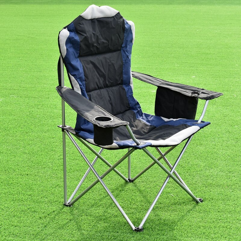 Arlmont & Co. Eilish Reclining Folding Camping Chair