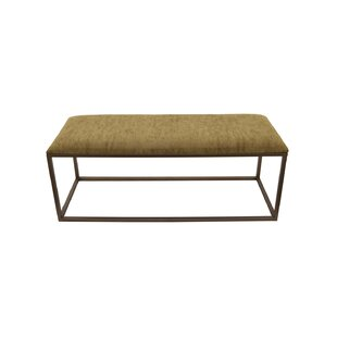 Pluto Upholstered Bench by Gracie Oaks