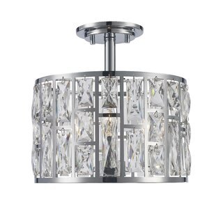 Webber 3-Light Semi Flush Mount by Mercer41