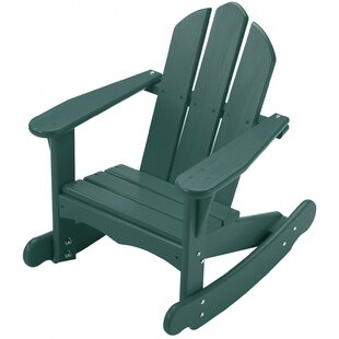 Little Colorado Bailey Youth Solid Wood Rocking Adirondack Chair