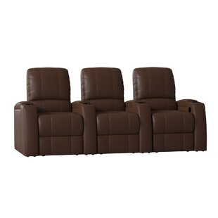 Octane Seating Storm XL850 Home Theater Lounger (Row of 3)