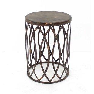 Shirey Barrel-Like End Table