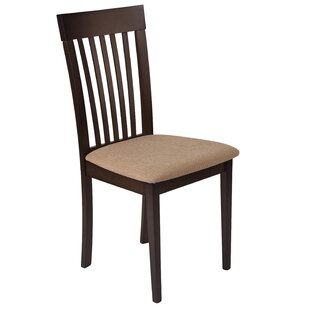 Trotwood Vertical Rail Back Upholstered Dining Chair