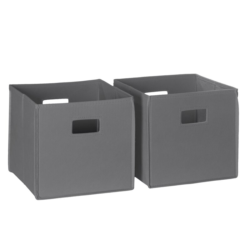 Folding Toy Storage Bin (Set Of 2)