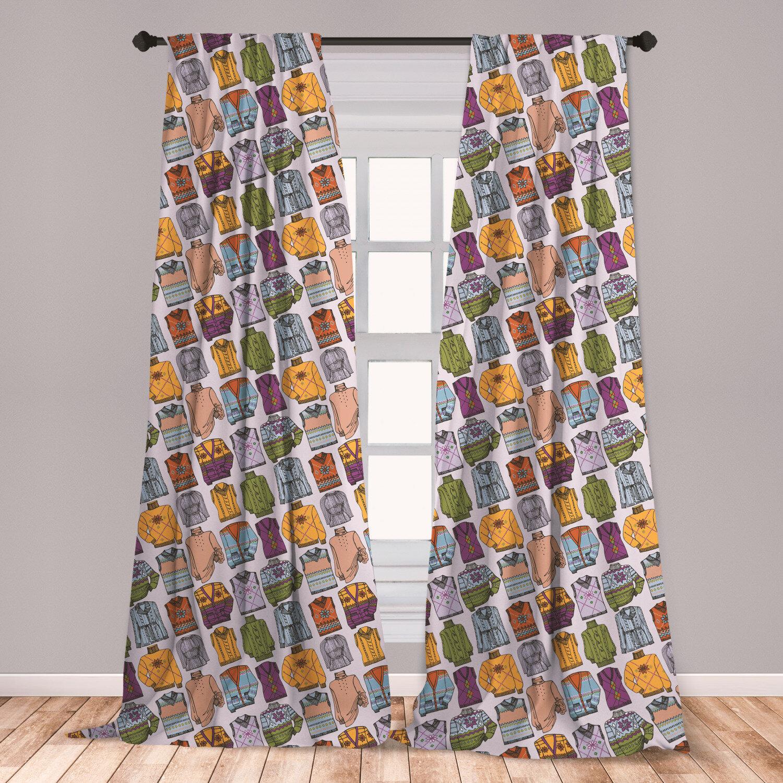 East Urban Home Hipster Room Darkening Rod Pocket Curtain Panels Wayfair