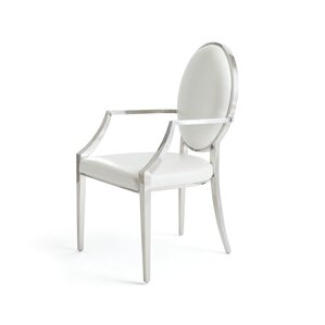 Cierra Leather Upholstered Dining Chair by Willa Arlo Interiors