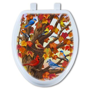 TGC Artisans Seats Maple Tree Marvel Round Toilet Seat