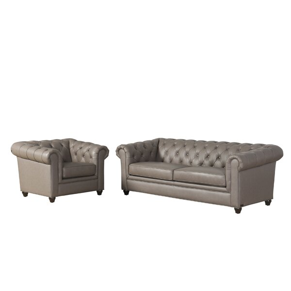 Chesterfield Living Room Set | Wayfair.ca