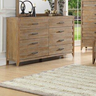 Gracie Oaks Fedna 8 Drawer Double Dresser