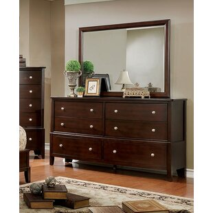 Charlton Home Kennerson 6 Drawer Dresser