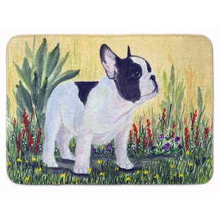 French Bulldog Memory Foam Bath Rug By East Urban Home