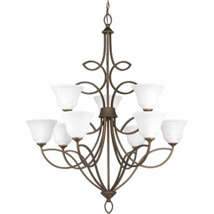 Red Barrel Studio Kanwit 9-Light Shaded Chandelier