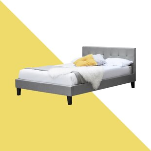 Dravin Low Headboard Upholstered Bed Frame By Hashtag Home