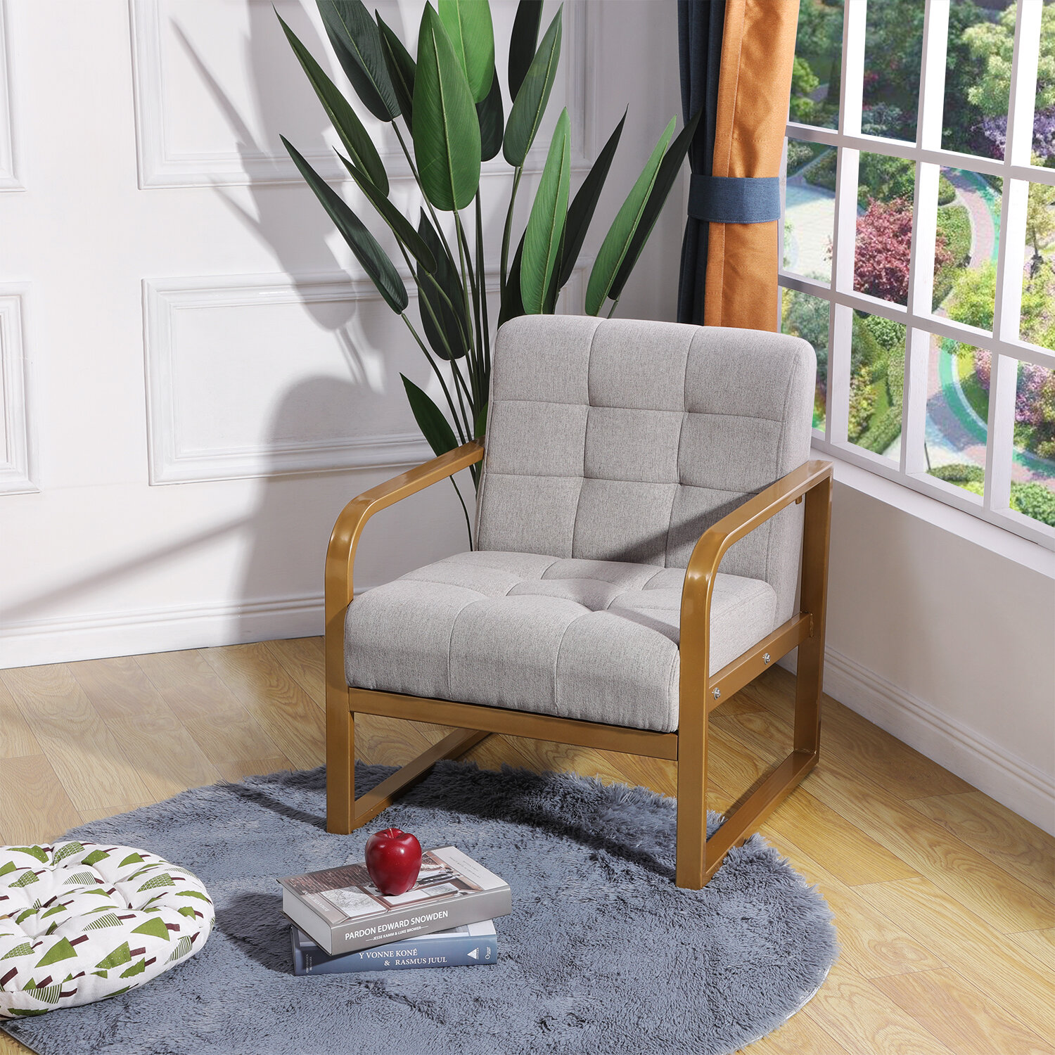 Everly Quinn Heffington Armchair