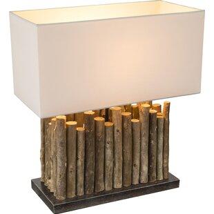 Rustic table lamps wayfair reita 50cm table lamp aloadofball Choice Image
