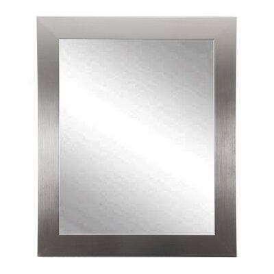 Brayden Studio Treiber Modern Wall Mirror Size: 36 H x 32 W X 0.75 D
