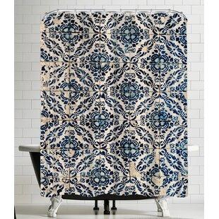 Azulejos I Single Shower Curtain