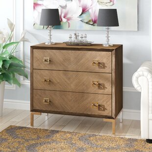 Val 3 Drawer Chest by Modern Rustic Interiors
