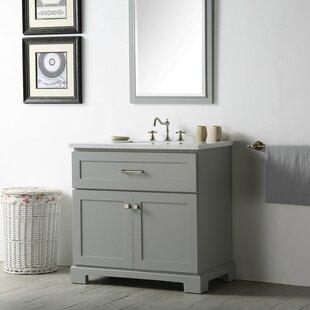 Seigle 36 Single Vanity Set ByGracie Oaks