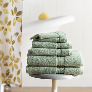 Epsom 6 Piece Cotton Towel Set