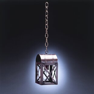 Northeast Lantern Adams 1-Light Outdoor Hanging Lantern