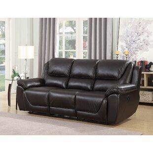 Rish Leather Reclining Sofa