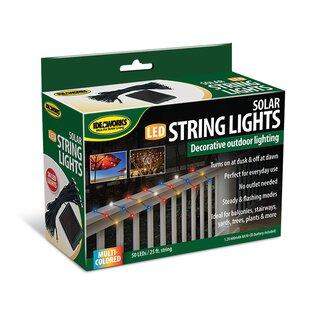 Ideaworks Solar 50 Light Fairy String Light (Set of 3)
