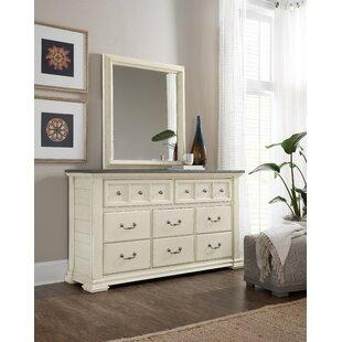 Sturbridge 8 Drawer Dresser with Mirror by Hooker Furniture