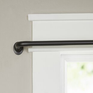Dowlen Wrap Curtain Rod and Hardware Set by Gracie Oaks