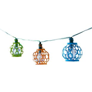 Solar 20-Light 14.75 ft. Globe String Lights