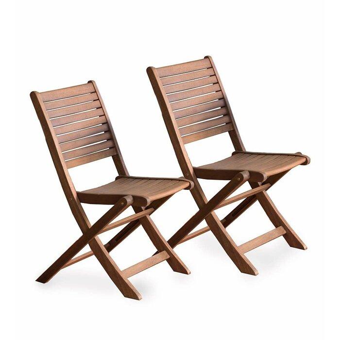 Amazing Eucalyptus Bistro Folding Patio Dining Chair Machost Co Dining Chair Design Ideas Machostcouk