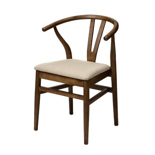 Bloomsdale Solid Wood Dining Chair Bungalow Rose