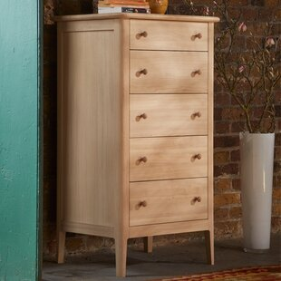 Wright 5 Drawer Chest Of Drawers By August Grove