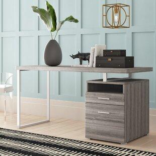 Kornegay Solid Wood Writing Desk by Mercury Row