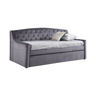 Enzo Upholstered Daybed With Trundle By Canora Grey