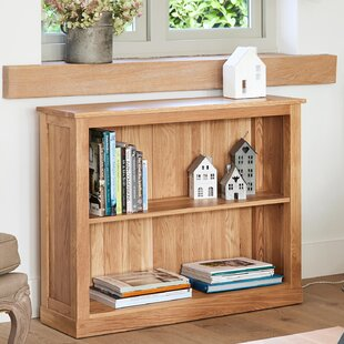 Oscar Wide 80cm Bookcase By Marlow Home Co.