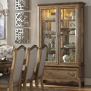 Bainbridge Lighted China Cabinet by Astor..