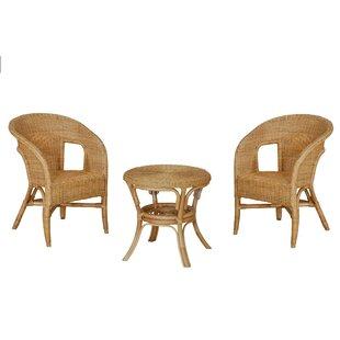 Allon 2 Seater Rattan Conversation Set Image