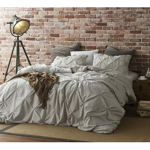 Chapell Pin Tuck Single Duvet Cover
