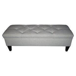 Tusarora Upholstered Storage Bench by Three Posts