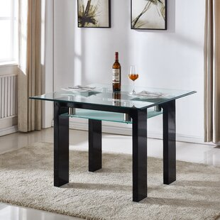 Top Reviews Dove Dining Table By Orren Ellis