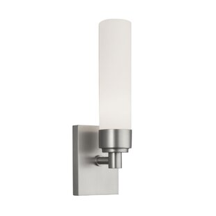 Best Reviews Burrington 1-Light Wall Sconce with Shade By Wade Logan