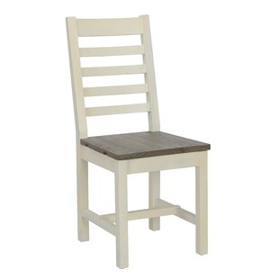 Dukes Solid Wood Dining Chair (Set of 2) by Rosecliff Heights