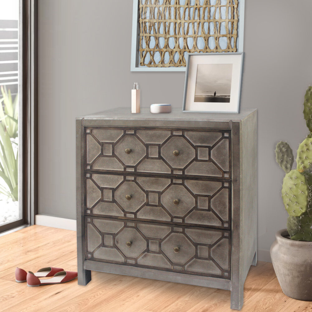 Lought 20   Drawer Accent Chest