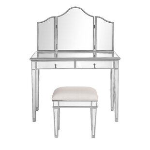 Orpha Contemporary Vanity with Mirror