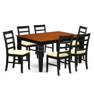 Chandler 7 Piece Dining Set by Red Barrel..