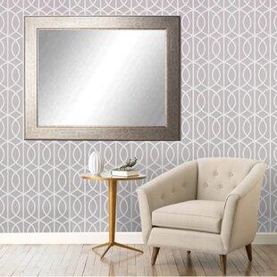 Read Reviews Silver Studio Vanity Wall Mirror ByAmerican Value