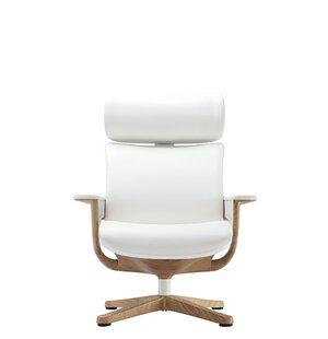 Shearer High-Back Leather Desk Chair
