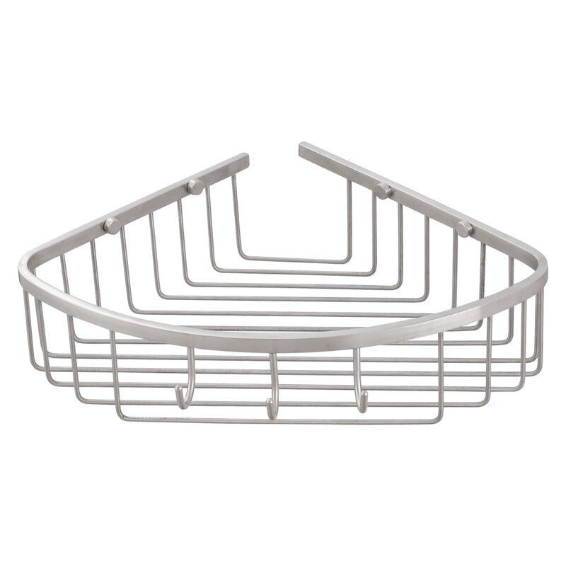 Transolid Stainless Steel Corner Shower Basket Wayfair